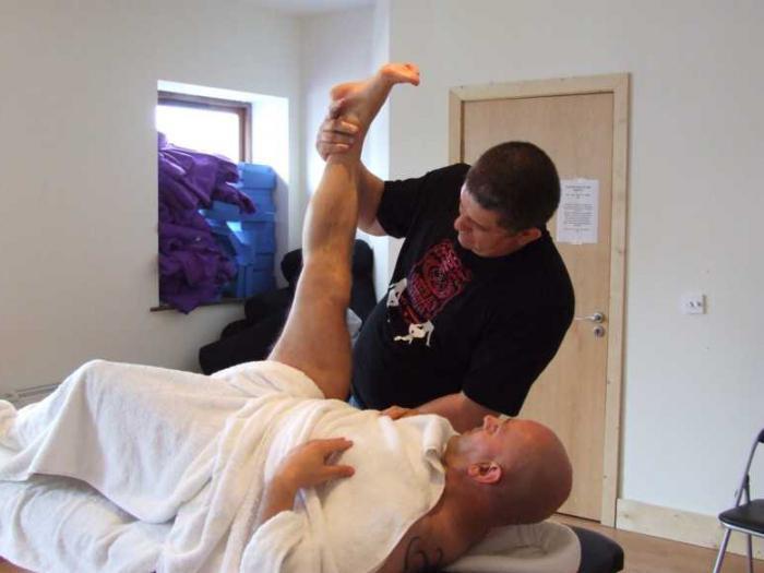 техника за масаж на простатата