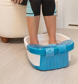 navodila za masažo stopal