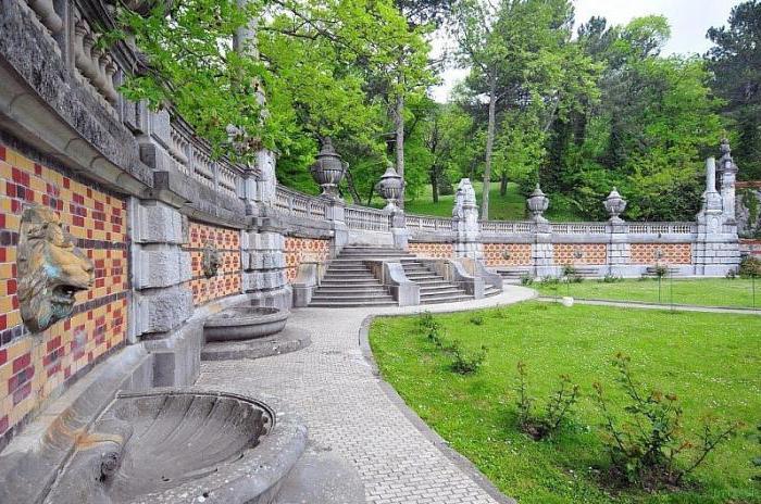 domačija v parku Massandrovsky