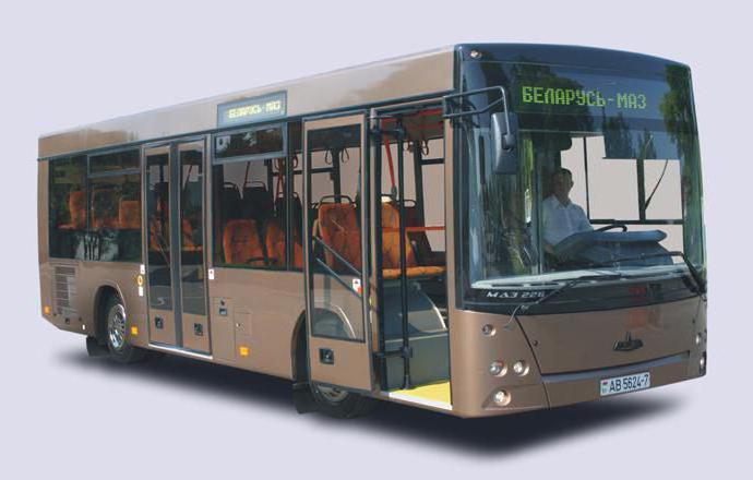 Спецификации на MAZ-206