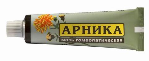 arnická homeopatická masť