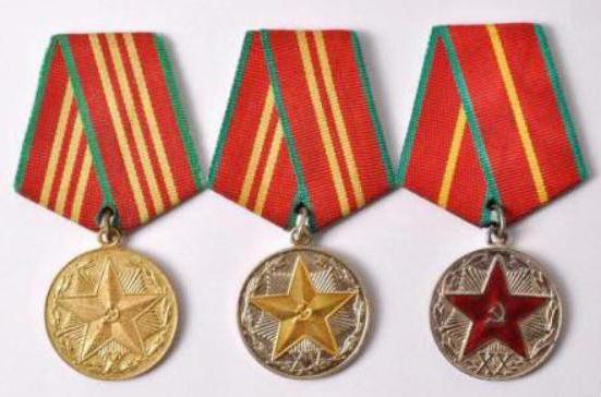medaglia per un servizio impeccabile