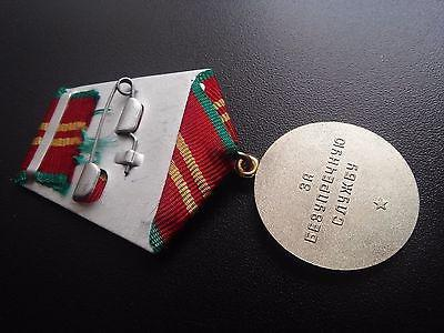 medaglia per il servizio impeccabile della Russia