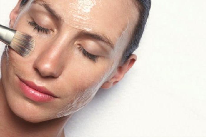 peeling al viso mediano