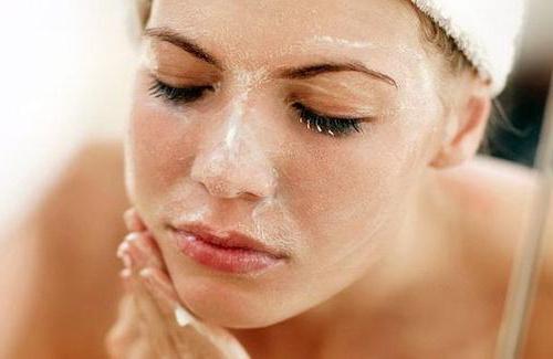 peeling facciali mediani a casa