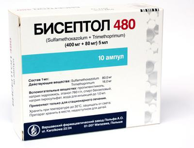 Indikace biseptolu k použití