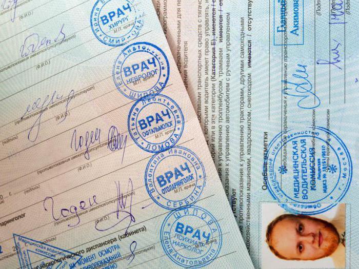 liječničku potvrdu za zamjenu vozačke dozvole nakon isteka