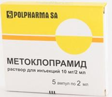 metoclopramide in fiale