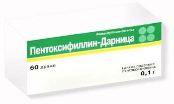 istruzioni per l'uso di pentossifillina