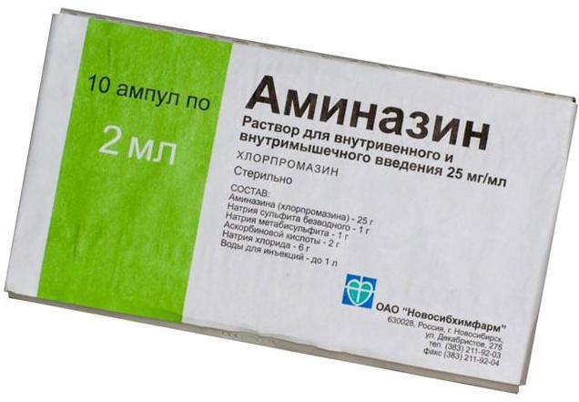 istruzioni di clorpromazina per l'uso