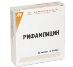 istruzioni per l'uso di rifampicina