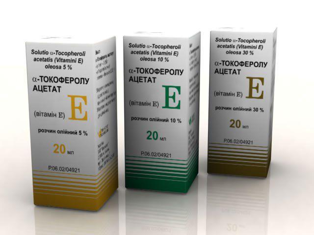 tokoferol acetat