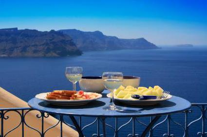 Menù di dieta mediterranea