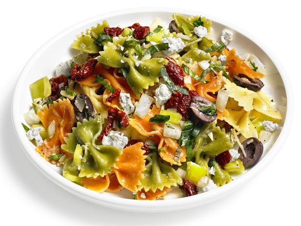 Menu di ricette di dieta mediterranea