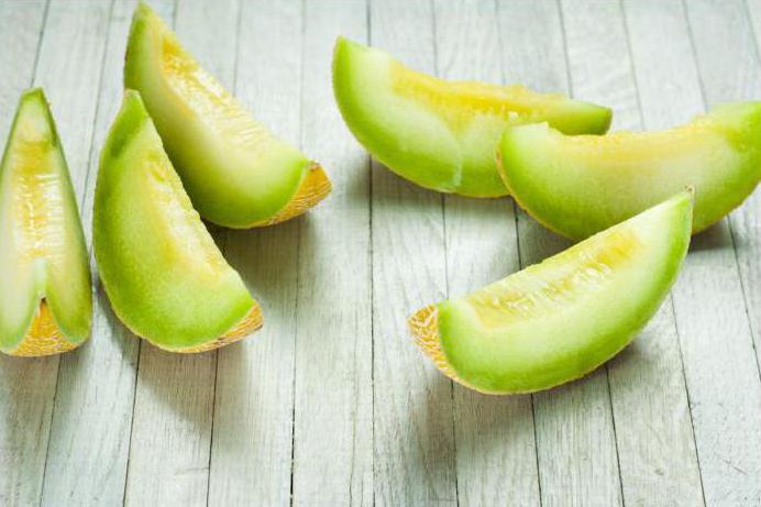 Menu dimagrante dieta melone
