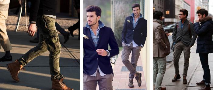 Карго панталони за мъже.