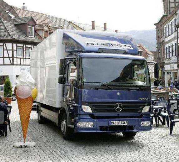Motore Mercedes atego