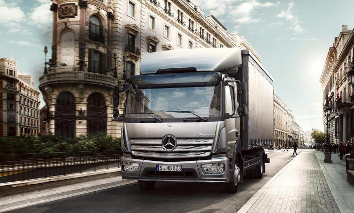 Mercedes Atego 5 tonnellate