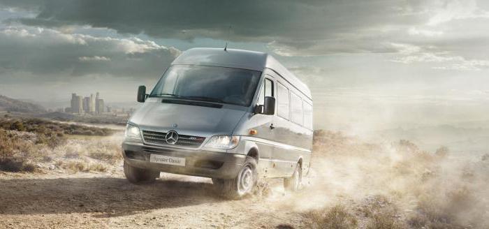 Mercedes Benz Sprinter класически спецификации