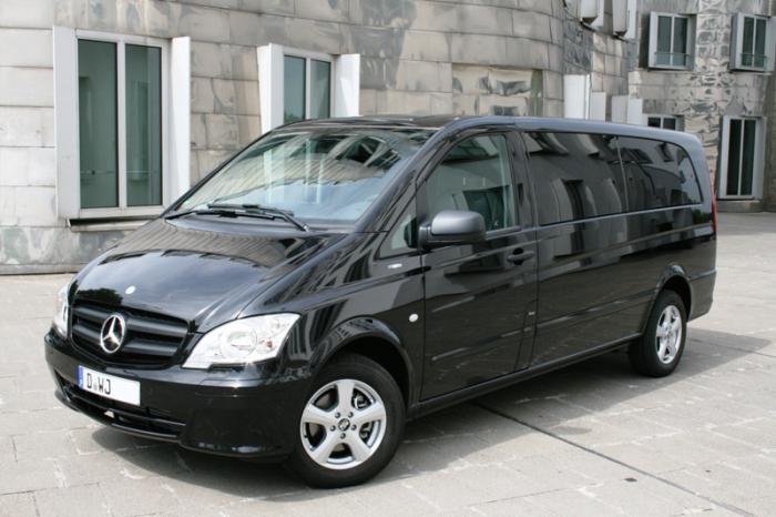 Specifiche tecniche Mercedes Vito
