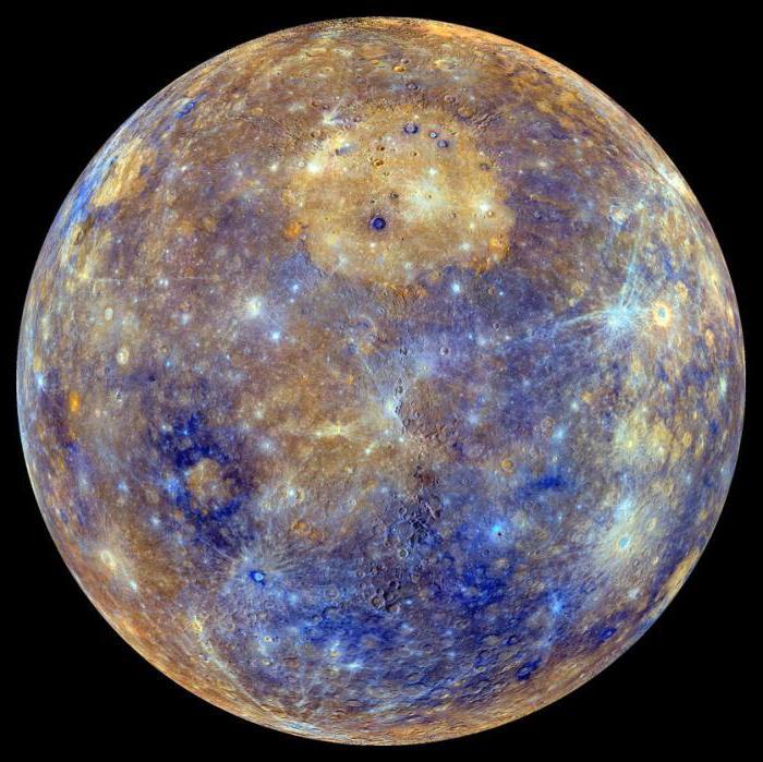 Nome satelliti mercurio