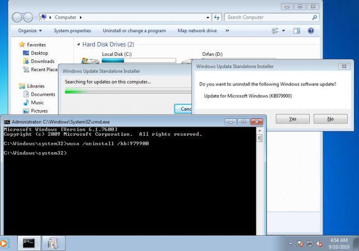 vaš izvod programa Windows 7 ni pravi razlog