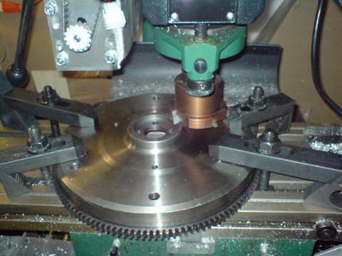 macchina per incisione di fresatura