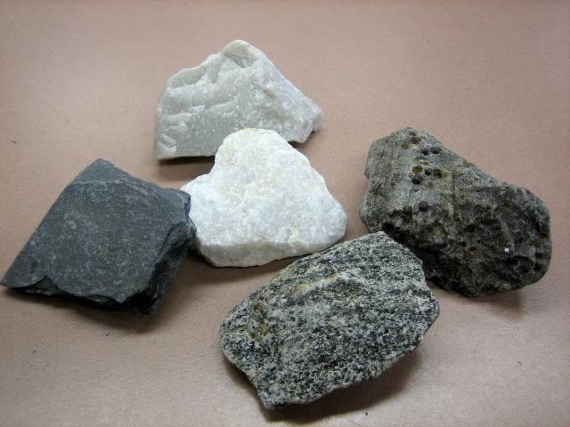 skały o metamorficznym pochodzeniu