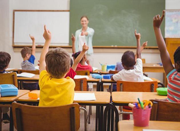 Formy uspořádání lekce ve škole