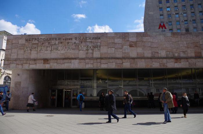 метро кузнецки мост