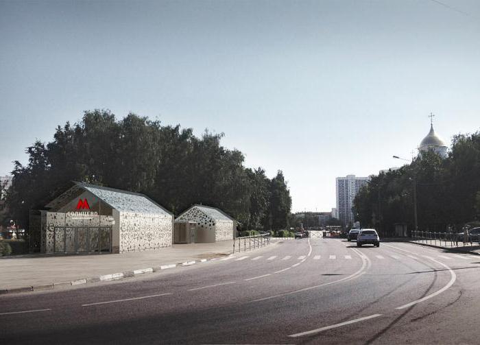 stazione della metropolitana di Solntsevo data di apertura