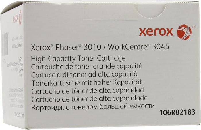 xerox mfu 3045