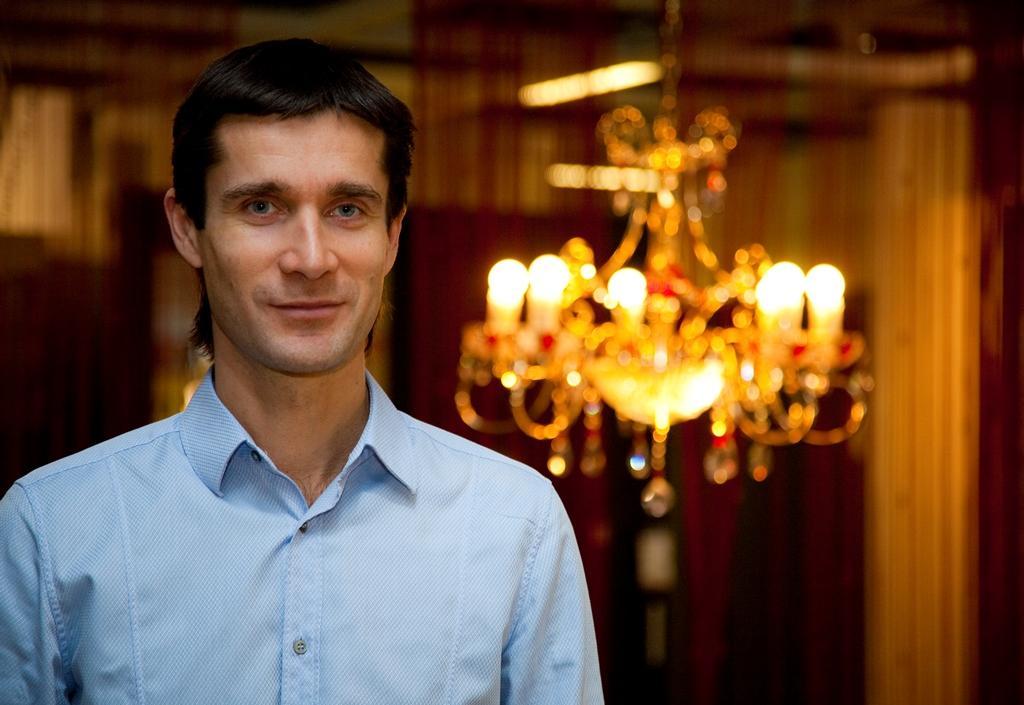 Uomo d'affari Mikhail Kuchment