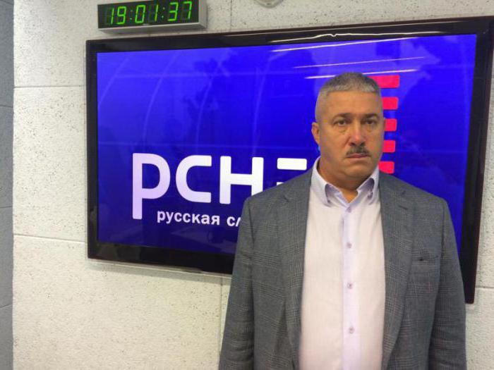 Микхаил Иуриев на радију