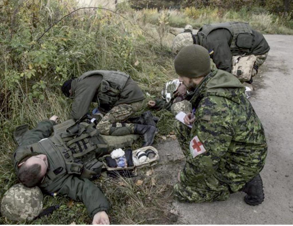 medicina za vojaške nesreče