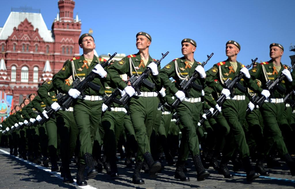vojaško parado