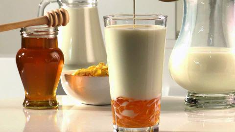 uso del latte con miele