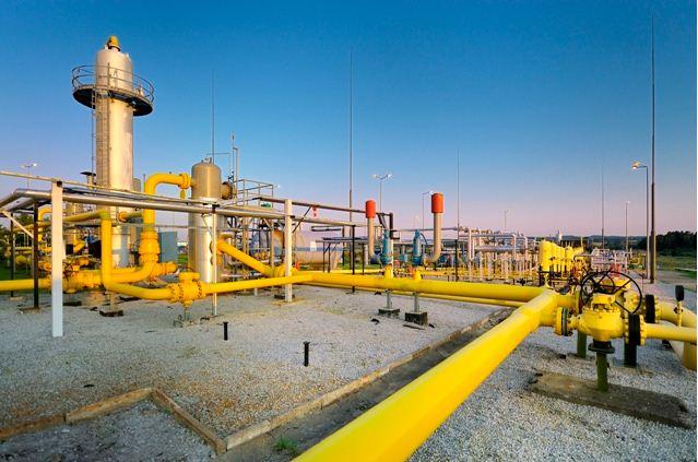 produzione di gas