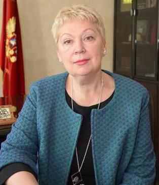 Minister za šolstvo Rusije Olga Vasilieva