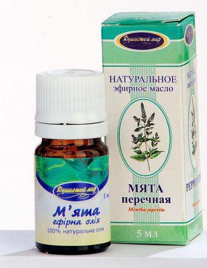 olio essenziale di menta piperita per il viso