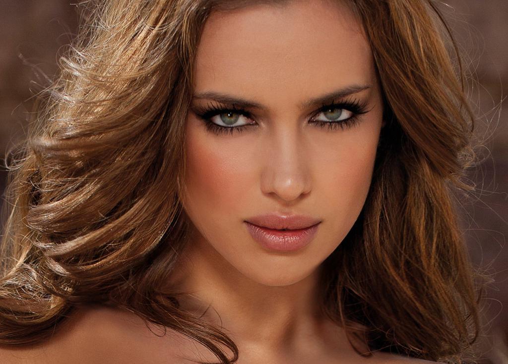 La faccia di Irina Shayk