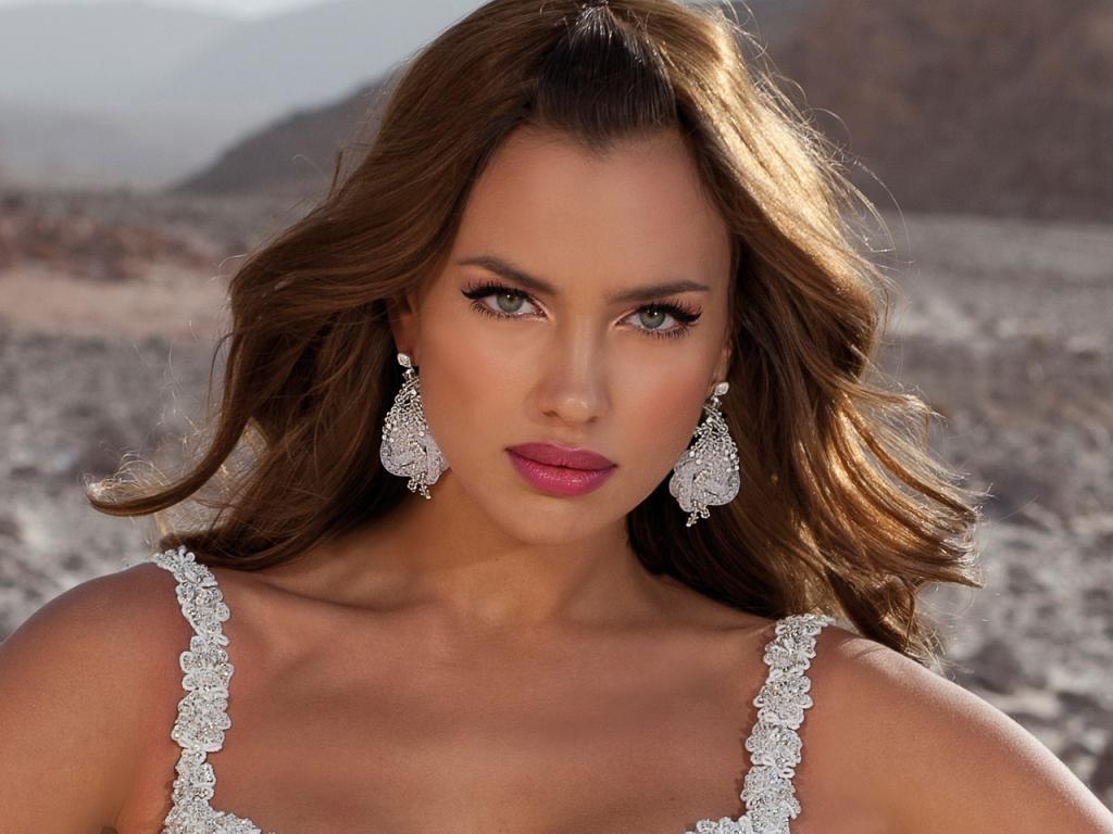 La top model Irina Shayk