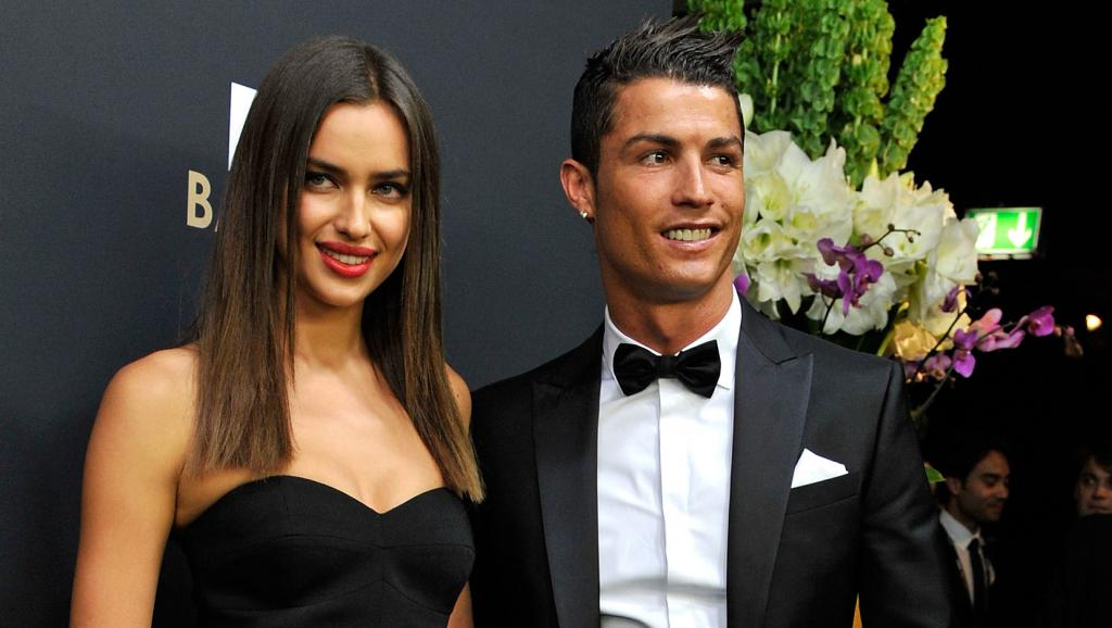 Irina e Ronaldo sembrano felici