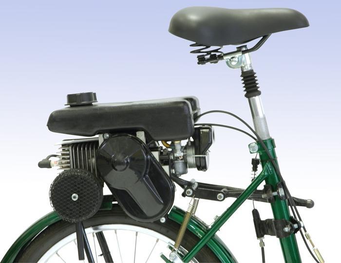 motore a benzina per una bicicletta