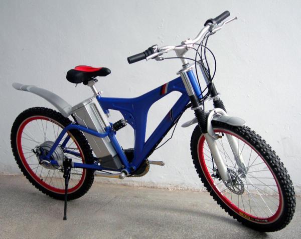 motore elettrico su una bicicletta