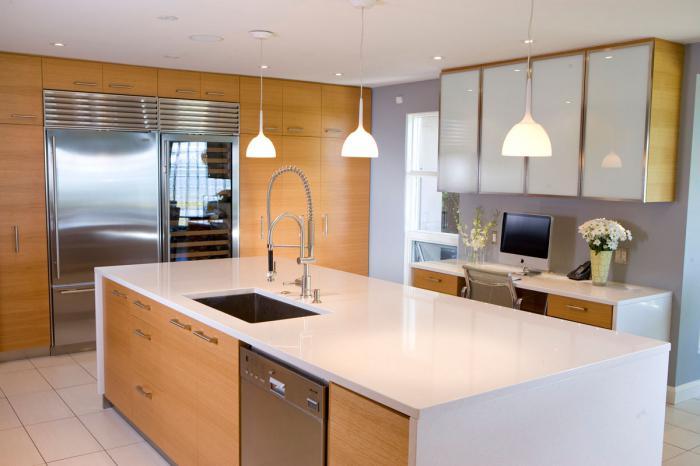 ъглова кухня модерна