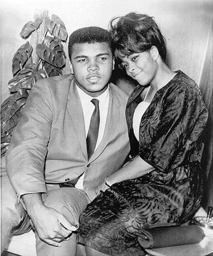 moglie di Mohammed Ali