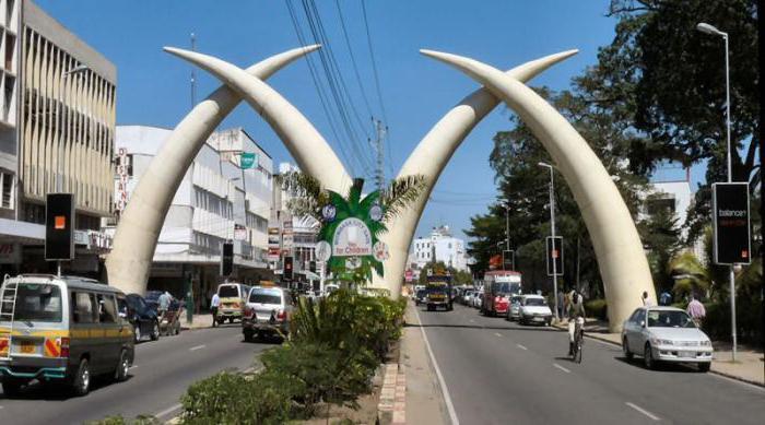 Описание и забележителности на Момбаса (Кения)
