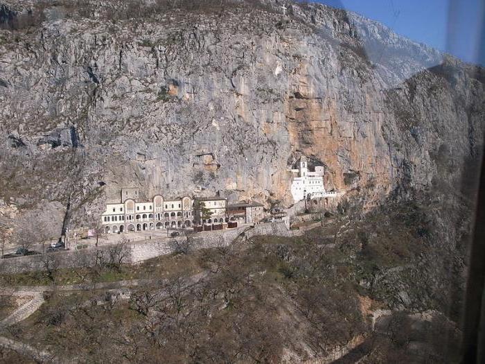 Montenegro sulla mappa