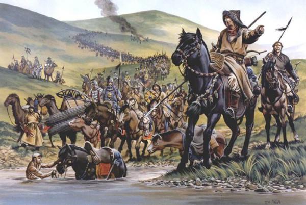 L'invasione mongolo-tatara della Russia e le sue conseguenze
